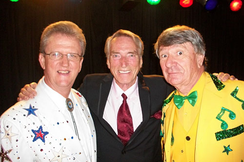 Wayne Horsburgh, Frank Ifield, and Jim Haynes