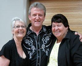 Gill Delaney and Dulcie Buckland