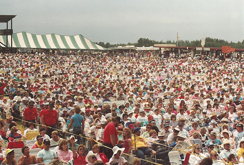 Some of the 1990 Hodag crowd