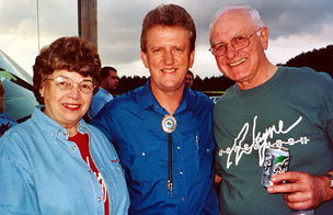 Pat and Bernie Check