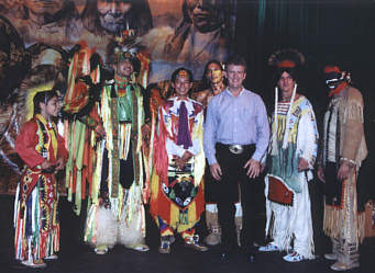 Wayne meets the Native Americans