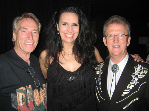 FRANK IFIELD, NICKI GILLIS and WAYNE HORSBURGH at Canterbury Country, March 2016