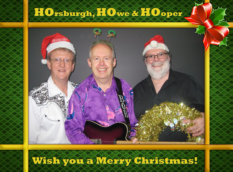 Ho Ho Ho Christmas Card