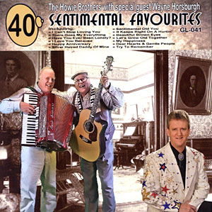 40 Sentimental Favourites CD cover