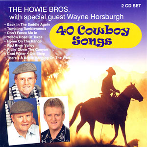 40 Cowboy Songs - CD cover
