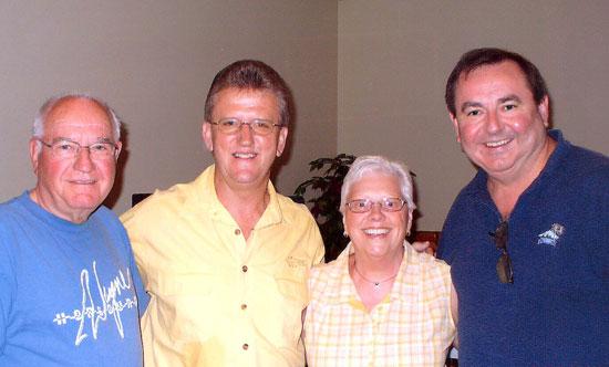 Bill, Wayne, Lavonne, Mal