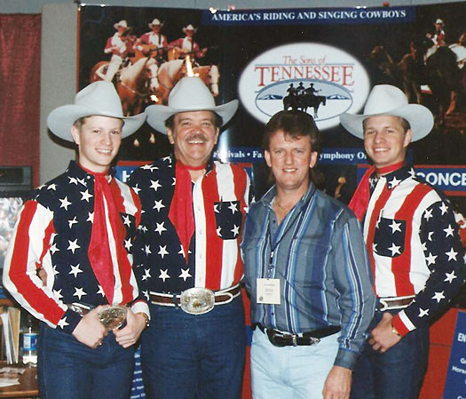 with the 'Sons Of Tennessee'  in Nashville