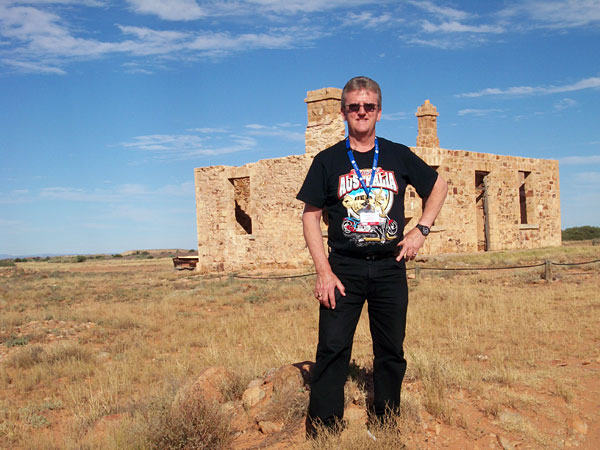 The ghost town of Farina, SA